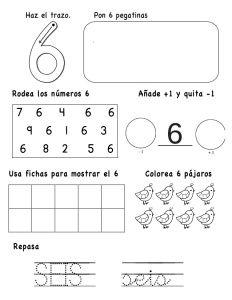 numeros-hasta-el-10-6-638 Pre K Activities, Preschool Learning Activities, Teaching Resources, Educational Activities, Preschool Themes, Math Literacy, Math Class, Kindergarten Math, Math 4 Kids