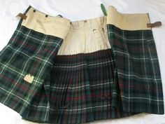 Seaforth Highlanders kilt
