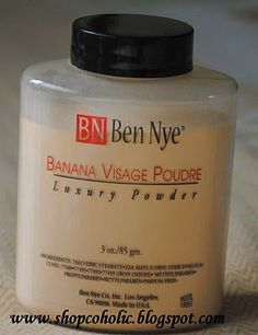 Ben Nye Banana Visage Poudre reviews - Makeupalley  best setting powder ever! for all skintones