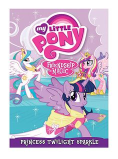 My Little Pony Friendship is Magic: Princess Twilight Sparkle DVD