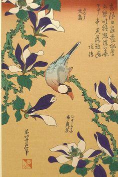 Japanese Ukiyo-e Woodblock print Hokusai Java by UkiyoeSalon