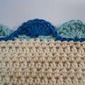 59 Free Crochet Patterns for Edgings, Trims, and Blanket Borders: 10. Treble Crochet Shell Edging Pattern