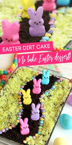 Mar 2020 - Easter dirt cake is one easy no bake Easter dessert that is layers of sweetness and topped with Peeps! Give this Oreo dirt cake recipe a try. Easter Deserts, Easy Easter Desserts, Easter Snacks, Easter Treats, Easter Recipes, Easter Food, Easter Dinner, Easter Stuff, Easter Brunch