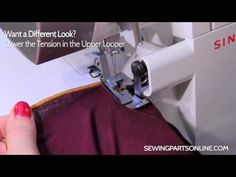 ▶ Serger Tutorial: Lettuce Edge - YouTube Juki Serger, Serger Sewing, Sewing Hacks, Sewing Tutorials, Video Tutorials, Sewing Tips, Sewing Ideas, Serger Projects, Sewing Projects