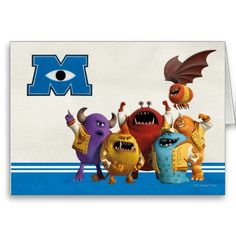 Monsters University - The JOXs Greeting Card. Monsters University, Bowser, Greeting Cards, Disney, Gifts, Fictional Characters, Presents, Gifs, Fantasy Characters
