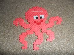 Pieuvre hama beads by creation-nath