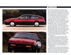 1986 Buick Skyhawk Hatchback