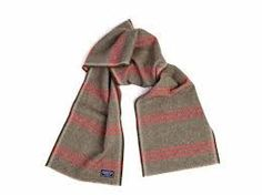 Faribault Tri-Stripe Wool Scarf
