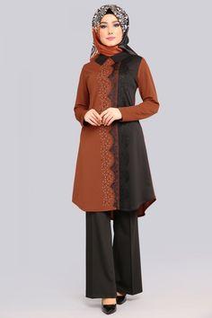 Lace And Stone Detail Tunic Taba Lace And Stone Detail Tunic Taba Modern Hijab Fashion, Pakistani Fashion Casual, Pakistani Dress Design, Abaya Fashion, Muslim Fashion, Skirt Fashion, Pakistani Dresses, Fashion Dresses, Chiffon Maxi Dress