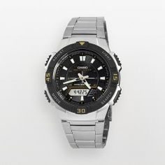 Casio Watch - Men's Tough Solar Stainless Steel Analog & Digital Chronograph - product - Product Review