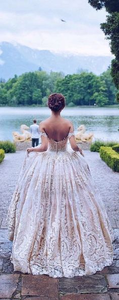 Gorgeous ball gown wedding dresses 12