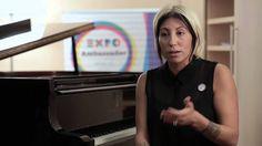 Ambassador Expo Milano 2015 Malika Ayane #Expo2015 #Milan