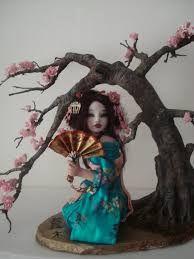 Resultado de imagen para polymer clay cherry blossom trees
