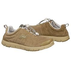 Propet Travel Walker Suede Shoes (Taupe) - Women's Shoes - 7.0 N