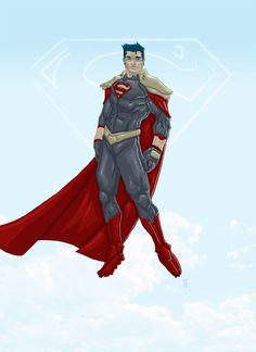 I am sorry, but why in the flying fuck would SUPERMAN, the guy who has been crushed between planets, hit in the face with a supernova, and all sorts of other insane thing NEED FUCKING ARMOR?! that aside, if you ditch the stupid shoulder pads, it's not all that bad