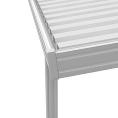x 10 ft. White Aluminum Attached Solid Patio Cover with 5 Posts lbs. x 10 ft. White Aluminum Attached Solid Patio Cover with 5 Posts lbs. Live – The Home Depot Metal Patio Covers, Aluminum Patio Covers, Outdoor Spaces, Outdoor Living, Outdoor Patios, Outdoor Kitchens, Outdoor Ideas, Polycarbonate Roof Panels, Window Awnings