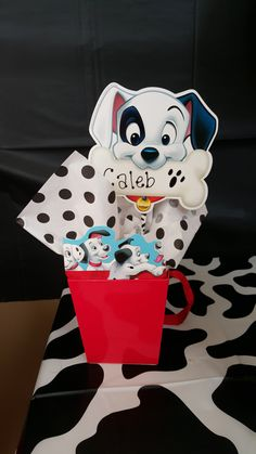 101 Dalmatians Themed Party Favor Boxed by JellyBeanbyKelly