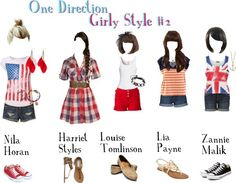 One Direction fashion for girls! want