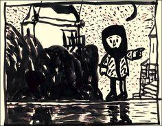 "Photo Album No1 ΝΙΚΟΣ  ΧΟΥΛΙΑΡΑΣ  Ζωγραφική (1996-2003) ""Οι εξοχές του νού"" | 21.32"