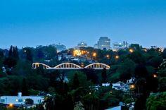 FAIRFIELD BRIDGE - HAMILTON Seattle Skyline, Hamilton, New Zealand, Opera House, Bridge, Building, Travel, Viajes, Buildings
