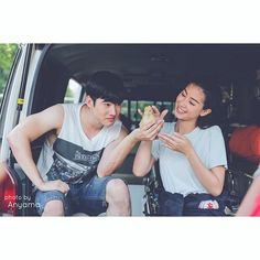Adorable Mint Chalida and Mario Maurer