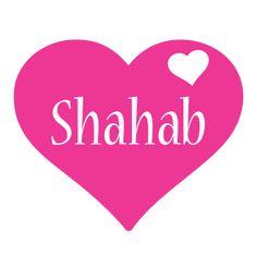 Shahab love-heart logo