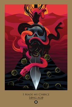 10 Beautiful Posters for Season 5 of Game of Thrones: All Beautiful Deaths