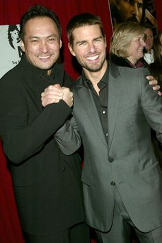December 2, 2003    Ken Watanabe and Tom Cruise attend the premiere of The Last Samurai in New York City.