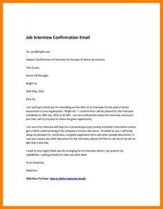 Interview Invitation Template Interview Invitation