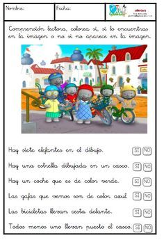 Comprensión lectora letra ligada. Spanish Classroom, Teaching Spanish, Montessori Activities, Kindergarten Activities, Speech Language Therapy, Speech And Language, Activities For 5 Year Olds, Sistema Solar, Spanish Language