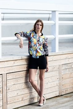 Bomber jacket in SS 2016