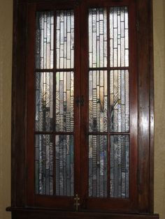 cabinet doors for pantry  Vintage style stained glass in gorgeous pull by stanfordglassshop, $750.00
