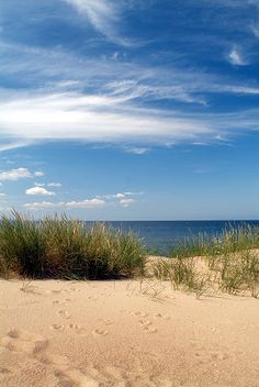 Plaża, morze, niebo ....