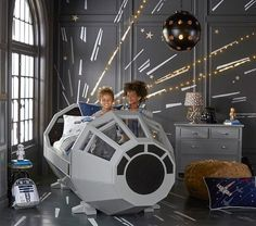 Star Wars™ Bed - pottery barn kids