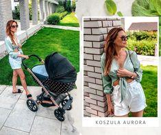 Moderná blúzka na leto v krásne zelenej farbe Leto, Baby Strollers, Children, Baby Prams, Young Children, Boys, Kids, Prams, Strollers