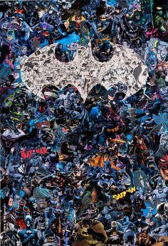 75 Years of Batman by Mr. Garcin