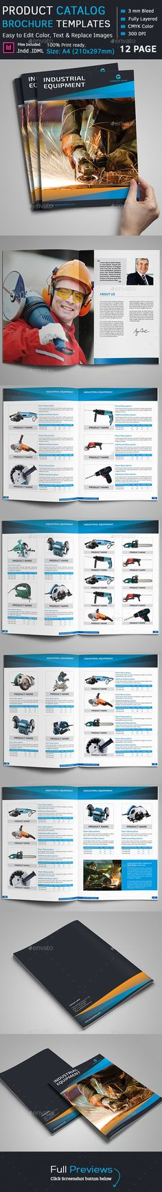 Simple InDesign Product Catalog Template • Only available here ➝ http://graphicriver.net/item/product-catalog/10815242?ref=pxcr