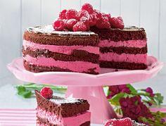 Geheime Rezepte: Himbeer-Joghurt-Schoko-Torte