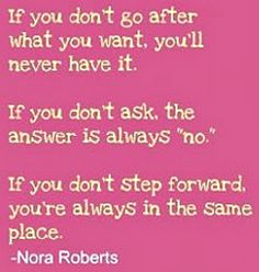 Go after it!   via @SparkPeople