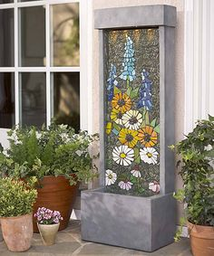 Take a look at this Mosaic Indoor Fountain today!