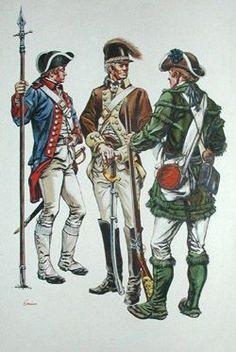 Revolutionary war costume