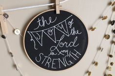 Scripture Embroidery