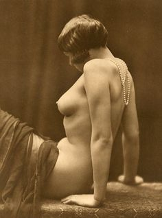NUS - No.15,1920's / French vintage nude photography