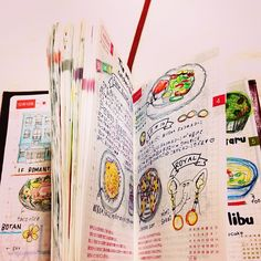hobonichi! Recipe a day? Maybe what I ate and cooked that day?