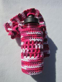 Mothers Day Sale Crochet Water Bottle by crochetedbycharlene, $14.40