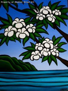 Spring Plumeria - Heather Brown
