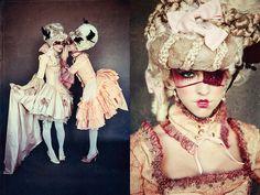 Cinderella inspired fashion editorial