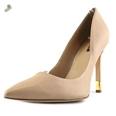Guess Babbitta6 Pointed Toe Heels - Medium Natural, 9.5 M US - Guess pumps for women (*Amazon Partner-Link)