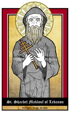 July 24: St. Sharbel Maklouf by NowitzkiTramonto.deviantart.com on @deviantART