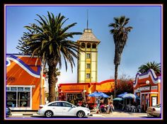 Charm of Swakopmund, Namibia. Spent many days drinking coffee here. Day Drinking, Drinking Coffee, Namibia, Atlantic Ocean, Travel And Leisure, Most Favorite, Countryside, Safari, Africa